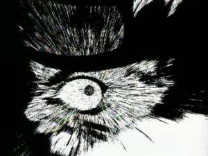 Episode 17 - Mir hat hier sehr der Stil der Schwarz-Weiß-Szenen gefallen, die Narutos Wut unterstrichen haben