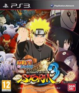 Das Cover zur Standart und Day-1 Edition von Naruto Shippuuden: Ultimate Ninja Storm 3