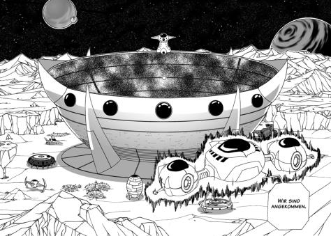 Die Arena der Varagas und Haupthandlungsort von Dragonball Multiverse