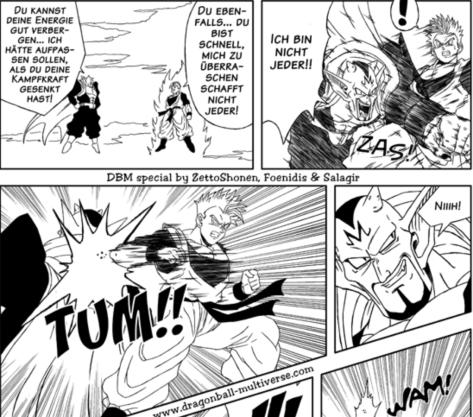 Future Gohan gegen Dabra.... cooles Kapitel und super Zeichnung eines Spezialkapitels