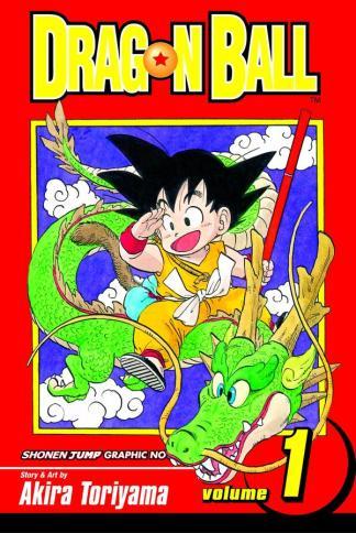 Son Goku auf dem Drachen Shenlong *chala (erstes DB Cover)