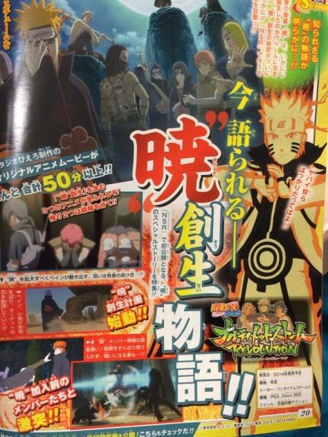 """Scan vom neuen Game """"Naruto Storm Revolution"""""""