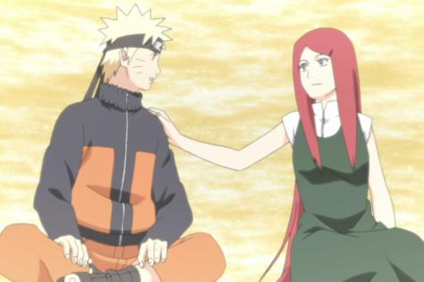 Kushina und Naruto
