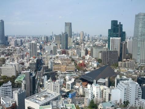 Aussicht vom Tokyo Tower #2