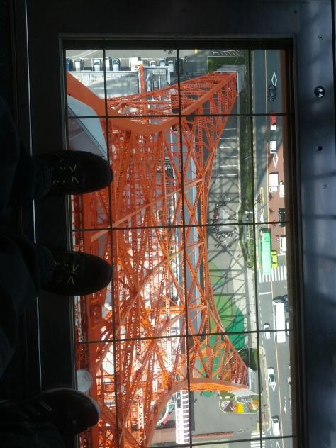 Bodenfenster in der Aussichtsplattform