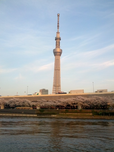 Tokyo Skytree ganz ganz nah!