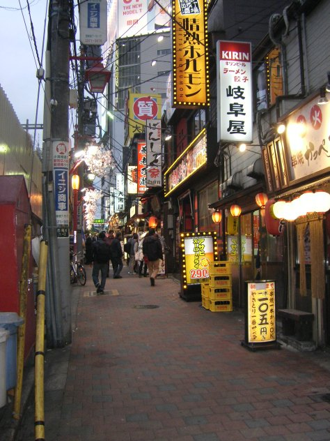 Die Yakitori-Straße