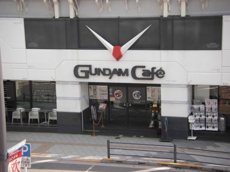 Hier ist drin, was drauf steht: ein Gundam Café