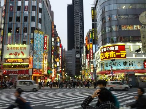 Shinjuku abends #1