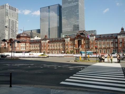 Tokyo Haupstation - das europäischste Bauwerk, was wir auf unserer Reise gesehen haben, glaube ich