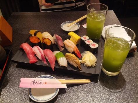 Die Sushi-Platte des Grauens!