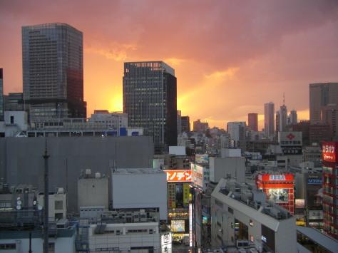 WAS für ein Sonnenuntergang!!!!!!!