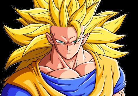 SSJ3 Goku by drozdoo (für Originalbild klicken)