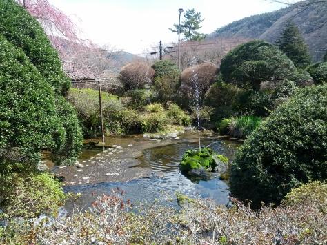 Der Garten unseres Ryokans