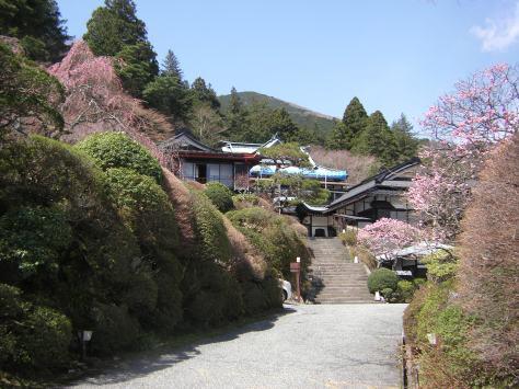 Eingang des Ryokans