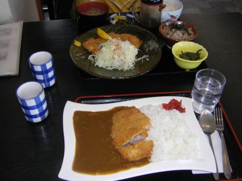 """...und ich hab Curry-Reis (wie Lee im """"Curry des Lebens"""" ^^) genommen"""