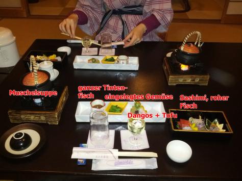 """Multi-Gänge-Dinner """"Kaiseki"""" #1"""