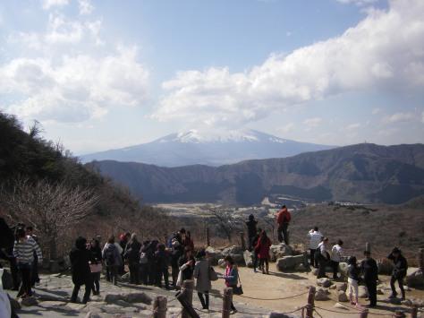 So nah waren wir dem Fuji