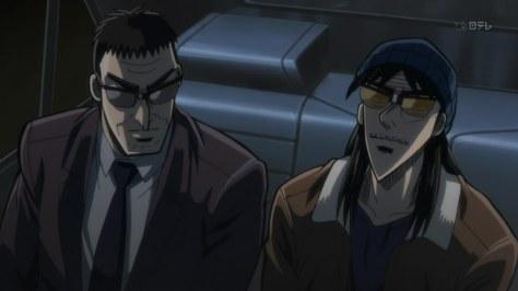 Kredithai Endou spricht mit Kaiji
