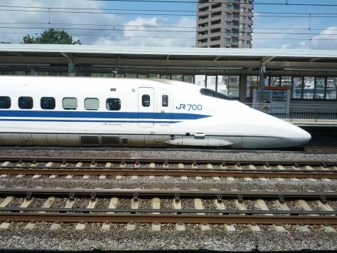 Ein Shinkansen (wooh, ein Zug!!1einself)