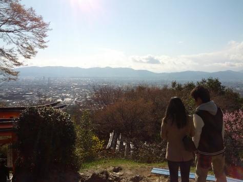 Wunderschöne Aussicht, auch wenn es kalt an diesem Tag war