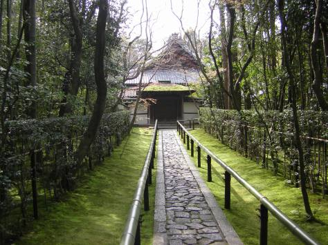 Auf dem Weg zum Daitoku-ji