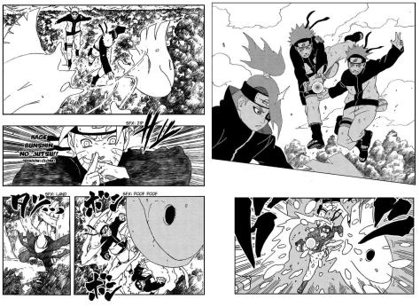 Naruto rettet Gaaras Leichnam