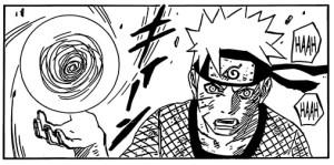 Seit wann kann Naruto das Rasengan nur mit 2 Händen? O_o