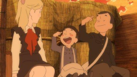 """""""Ich heiße Giovanni!"""" -""""Und ich Campanella!"""" (""""Unsere japanischen Namen würde sie eh nicht verstehen!"""")"""