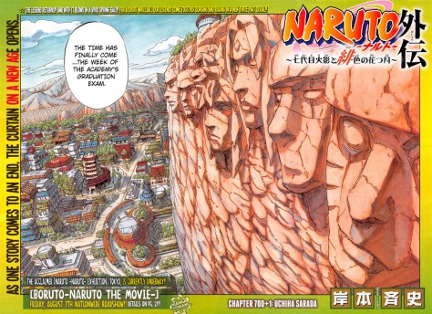 Der Hokageberg mit Kakashi und Naruto - jetzt auch in unbeschmiert!!